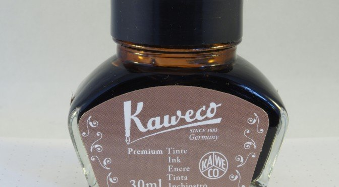 Kaweco Caramel Brown Ink Review