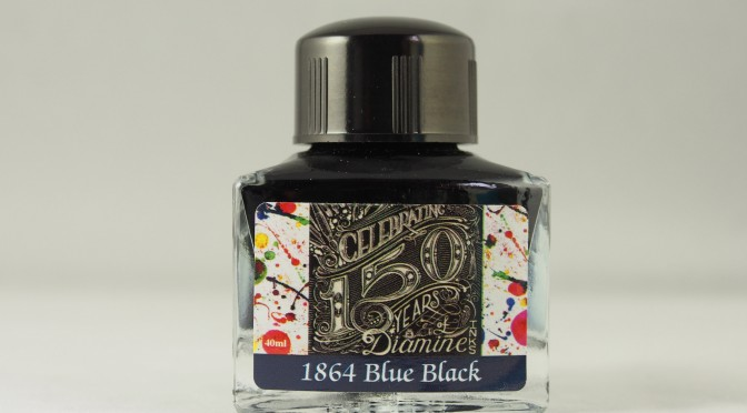 Diamine 150th Anniversary 1864 Blue Black Ink Review