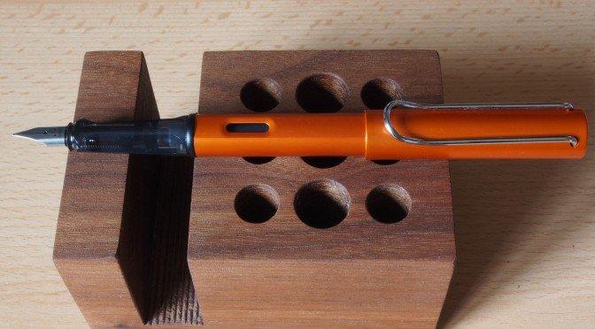 Lamy Al-star copperorange Fountain Pen First Impressions Review
