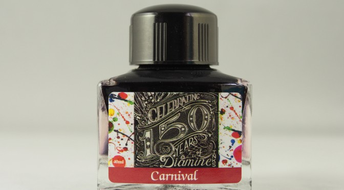 Diamine 150th Anniversary Carnival Ink Review